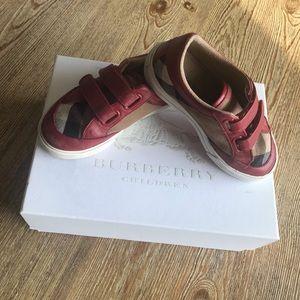 Authentic Burberry Children shoes